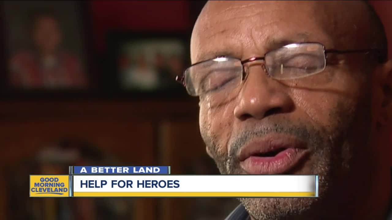 Local woman helps veterans in Cleveland