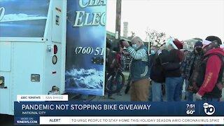 Christmas bike giveaway