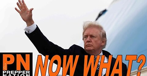 President Trump Flew Off Into the Sunset - Now What?