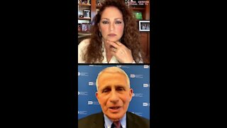 Fauci Tells Gloria Estefan to Ignore Her Doctor And Get The Vaccine