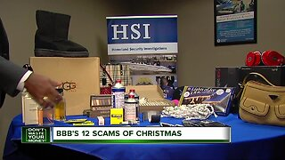 12 scams of Christmas, part 1