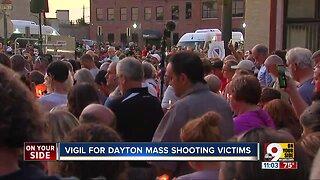 Vigil held to honor victims of Dayton mass shooting