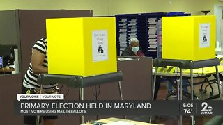 Primary election held in Maryland amid pandemic