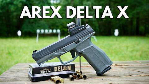 Arex Delta X Gen 2 Optics Ready - Better Than Glock?!?