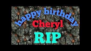 Happy birthday cherryl