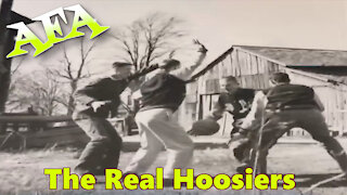 1954 Indiana State Basketball Champions The Real Hoosiers