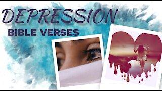 7 BIble verses for DEPRESSION // Scriptures for Depression// Depression Motivation 5 (Inspirational)