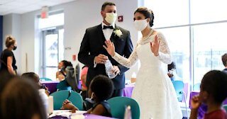 Couple Donates Wedding Reception Food To Homeless Shelter