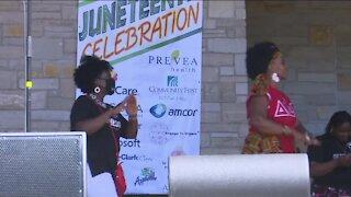 Appleton community celebrates Juneteenth