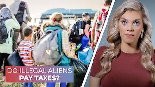 Do illegal aliens pay taxes?