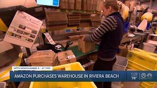 Amazon purchases warehouse in Riviera Beach
