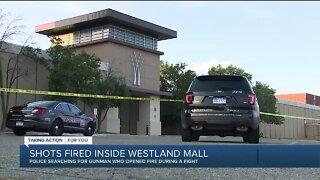 Shots fired inside Westland Mall