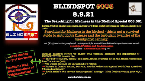 BLINDSPOT #008 - The Searching for Madness in the Method 008.001 Special