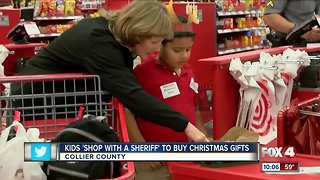 Kids shop with deputies in Collier County