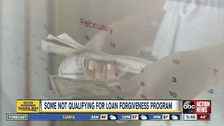 Student loans not forgiven for thousands of public workers