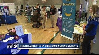 Boise State nursing students host health fair