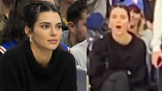 Kendall Jenner Caught Booing Tristan Thompson