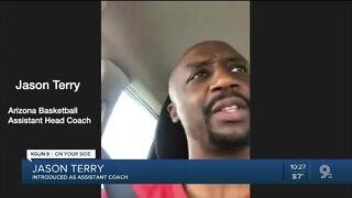 Jason Terry introduced as Arizona assistant coach