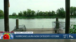 Tracking Hurricane Laura