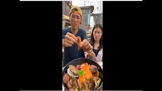 SMR EATING chinese food mukbang EATING SHOW ASMR MUKBANG KOREAN Seafood Eating Mukbang