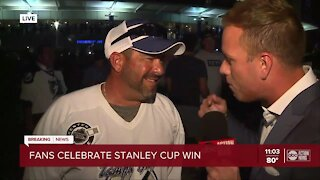 Fans react to Lightning's Stanley Cup victory