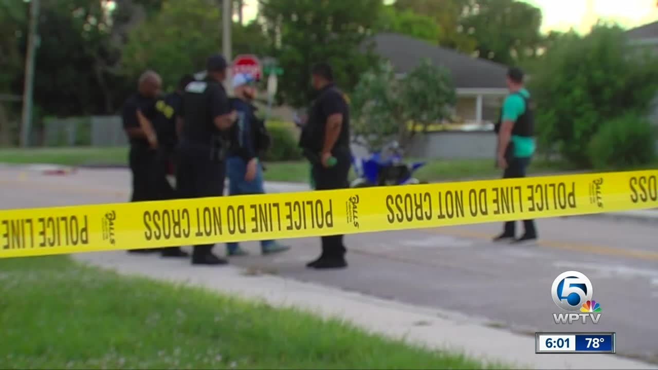 Police investigate shooting in Riviera Beach