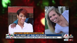 Homicide victims' families grieve during the holidays