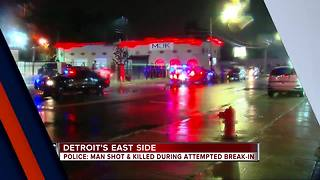 Man fatally shot after trying to break into medical marijuana dispensary in Detroit