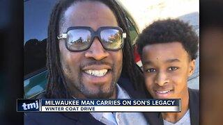 Milwaukee man carries on son's legacy