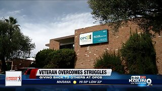 Local veteran overcomes addiction, gives back to other struggling veterans