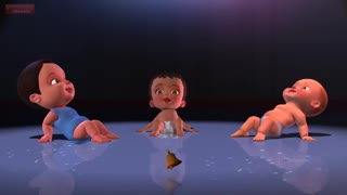 A Crazy Baby dance party