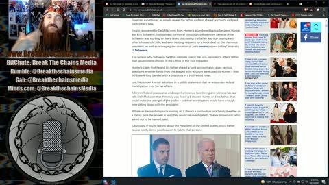 Beijing Biden Reinstating Trump Era Border Policy & May be implicated in Hunter's FBI Probe