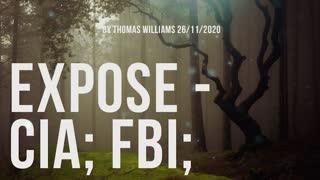 Expose - CIA; FBI;