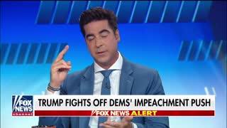 Watters slams hypocrite Dems over Trump impeachment