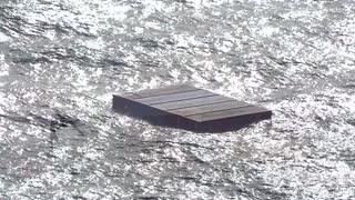 Container ship fire off Canada no longer spreading