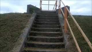Virtual Stair Climbing Up to the Top Enjoy The Scenic View ...Lake View with Ducks Nature Serene