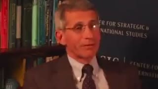 Dr fraud fauci 2013 talking about gain of function research