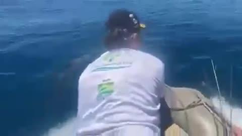 🐬 🇧🇷 Golfinhos interagem com Presidente Bolsonaro. 🦜🐕🤔🐕 Animais evoluindo 🐶🎶