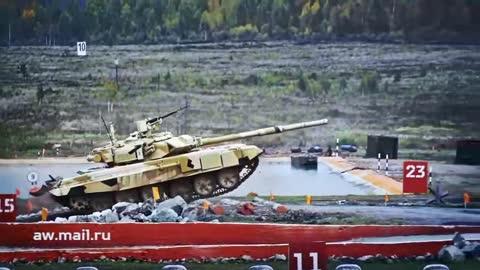 Tank Jump Slow-Mo