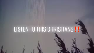 Important message for Christians