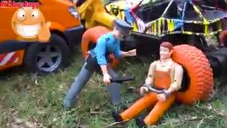 Police chase bad guy