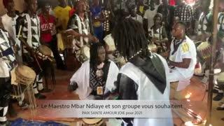 Senegalese music Mbar Ndiaye &YouAndArt wishes 2021