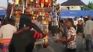 The biggest masquerade in Africa