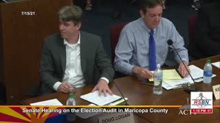 AZ SENATE HEARING ON THE ELECTION AUDIT IN MARICOPA COUNTY 7-16-21