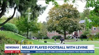 Greg Kelly Reports: Gen. Milley and Dr. Levine played football together