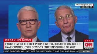 Dr. Anthony Fauci Speaks On CNN
