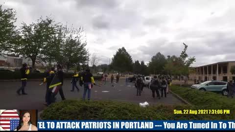 ANTIFA Attacks Protesters In Portland - PART 4