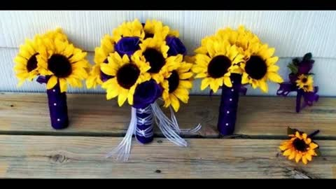 11 incredible sunflower bouquets