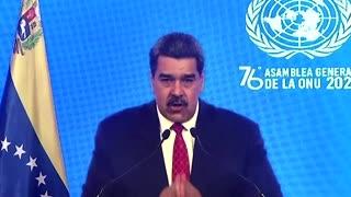 Venezuela's Maduro urges U.N. to lift sanctions