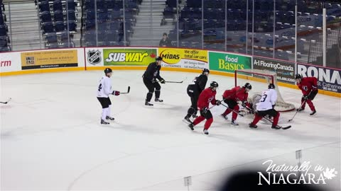 Canadian World Juniors Championship Team in St. Catharines